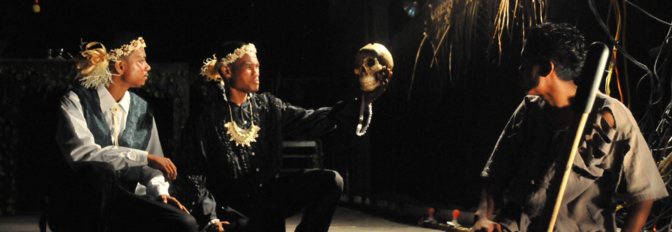Hamlet in the Marshall Islands